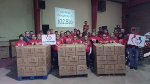FFA Volunteers Celebrate 102,000 Nutri-Plenty™ Meals!